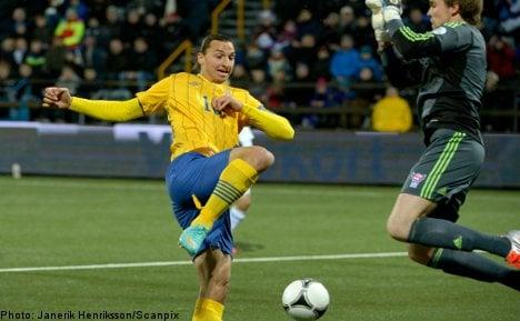 Zlatan winner saves Sweden's blushes