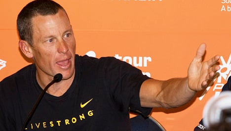 World cycling body backs Armstrong ban