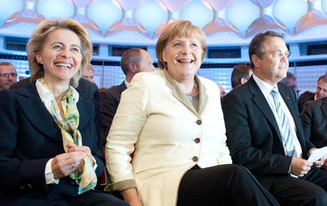 Merkel's party 'at most popular for four years'