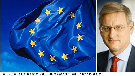 Swedish ministers hail EU Nobel Peace prize win