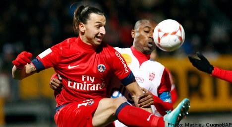 Ibrahimovic winner puts PSG in pole position