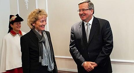 Polish president plays down Swiss quotas