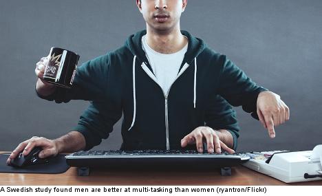 Men better multi-taskers than women: study