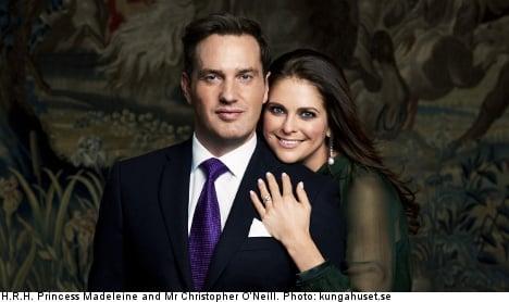 Princess Madeleine engaged to Chris O'Neill