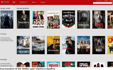 Netflix launches film streaming in Sweden
