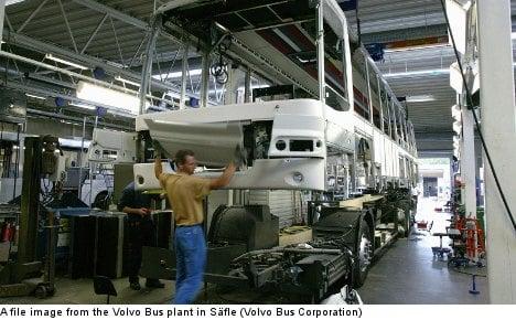 Volvo Buses to shut down Swedish factory