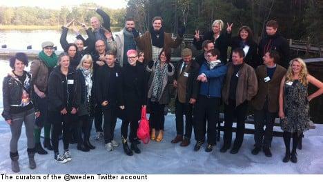 Curators of Sweden in Stockholm 'Tweet-up'