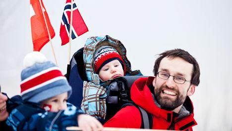 Norwegian dads to get 14 weeks of parental leave