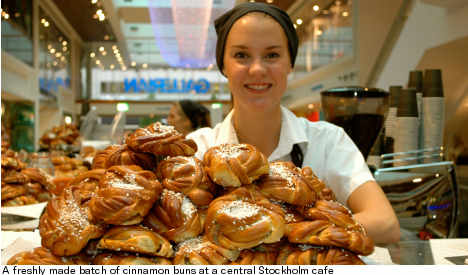 Swedes lick their lips in Cinnamon Bun Day feast