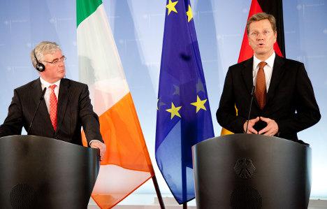 German FM: Be more like the hard-working Irish