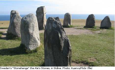 Ancient tomb found at 'Sweden's Stonehenge'