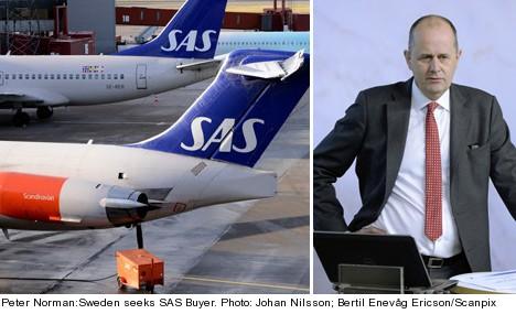 Sweden seeks buyer for ailing SAS: minister