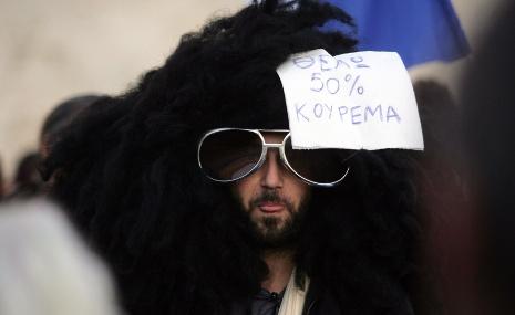 Berlin firmly against debt 'haircut' for Greece