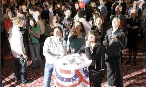 American expats prepare for election night parties
