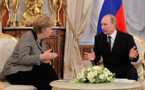 Merkel to Putin – Pussy Riot jail sentence unfair
