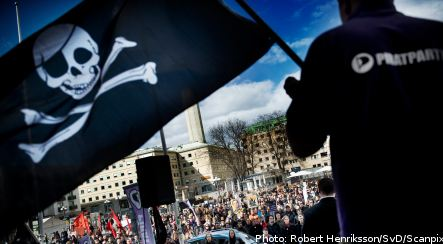 Sweden's Pirate Party doubles membership