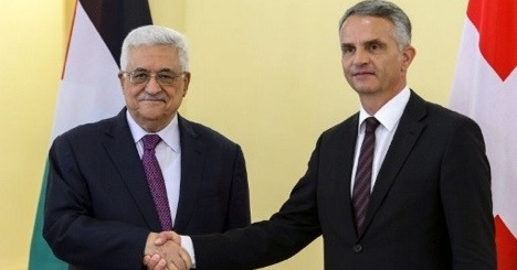 Swiss back Palestinian UN observer status