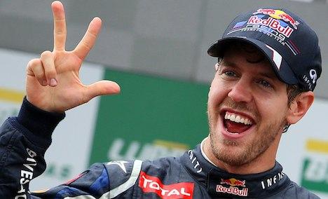 Vettel takes Formula One crown in São Paulo