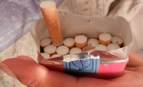 Nicotine addicts face higher cost for fix
