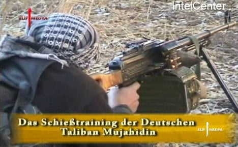 German Taliban 'put off by dirt and violence'