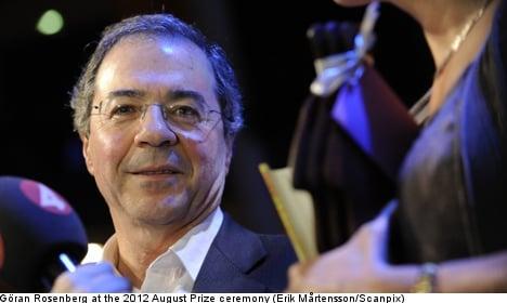 August Prize-winning author Göran Rosenberg