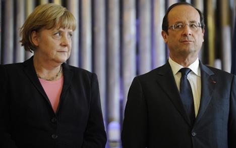 Merkel, Hollande to meet before EU summit