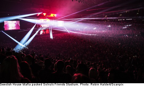 Swedish House Mafia in Stockholm farewell