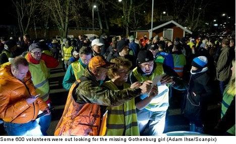 Missing Gothenburg girl found after 20 hours