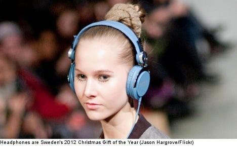 Headphones named hot Christmas gift of 2012