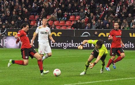 Leverkusen fourth in Liga after Düsseldorf win