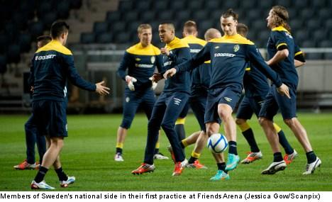 Sweden set to take on injury-ridden England