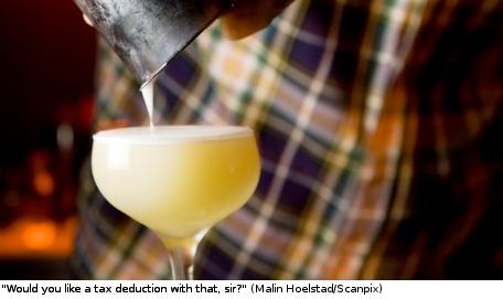 'Taxfree bartender' stirs Swedish class debate
