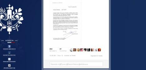 Hollande mocked for bad English in Obama letter