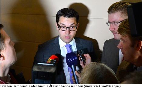 Scandal reveals signs of Sweden Democrat rift