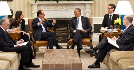 Hollande and Obama vow fresh start to relationship