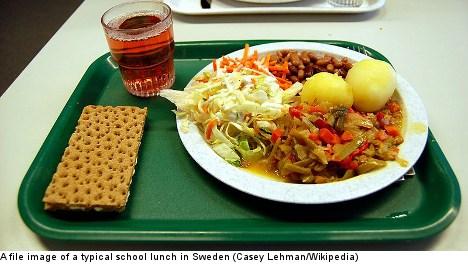 Refugee kids denied free lunch by Swedish school
