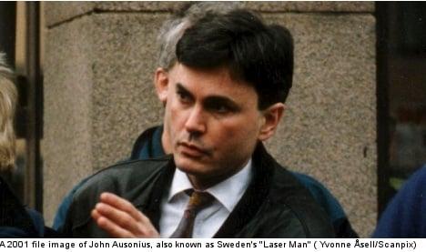 'Laser Man' denied bid for early release