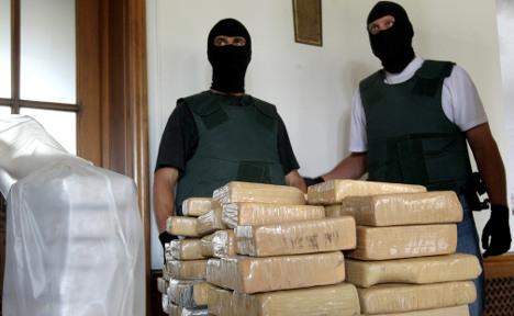 Huge drug import 'was sparked by police'