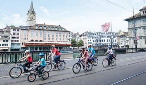 Zurich rolls out ambitious cycling plan