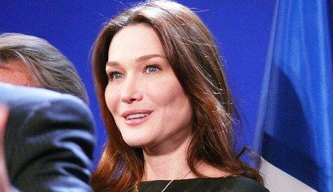 Ex-first lady Bruni backs gay marriage