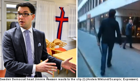 Swedish press: scandal shows 'true face' of Sweden Democrats