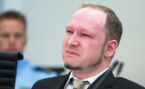 Breivik: I can't keep moisturizer in my cell