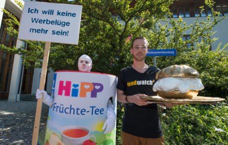 Baby food maker pulls 'misleading' tea
