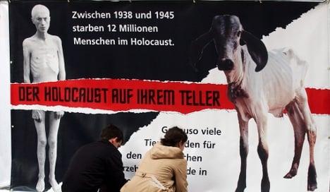 Holocaust animal rights campaign ban upheld