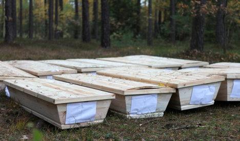 Accidentally stolen bodies return to Germany