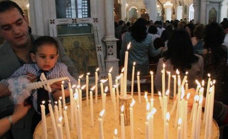 Germany to offer Syrian Christians asylum