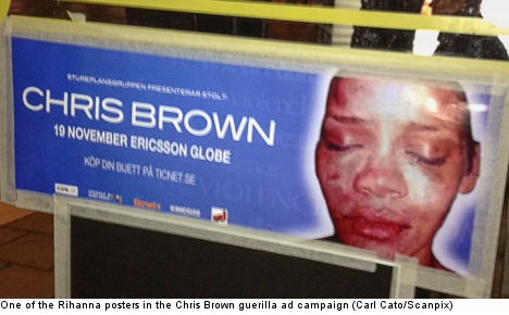 Swedish paper to boycott Chris Brown concert