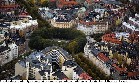 Top ten: Sweden's most expensive addresses