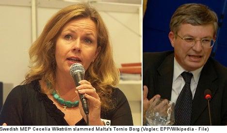 Malta foreign minister a 'dinosaur': Swedish MEP