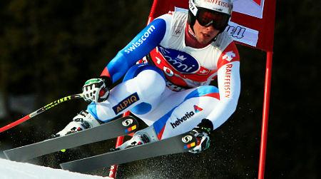 Injury throws Swiss ski star out for season